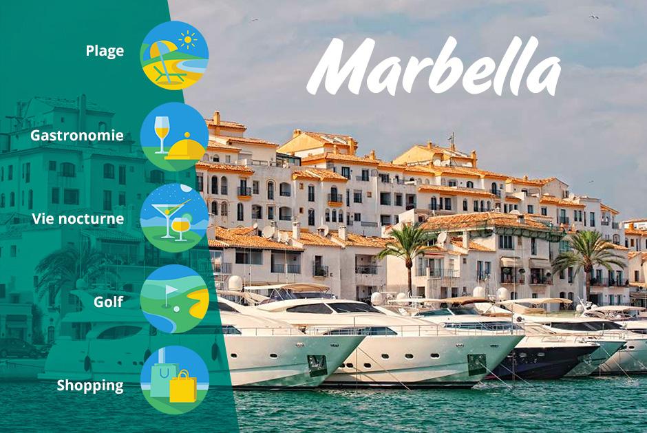 Port de Marbella en Espagne