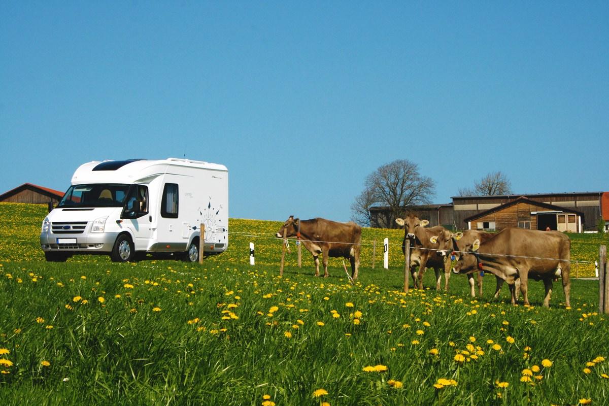 Proche des producteurs : le terroir en camping-car.