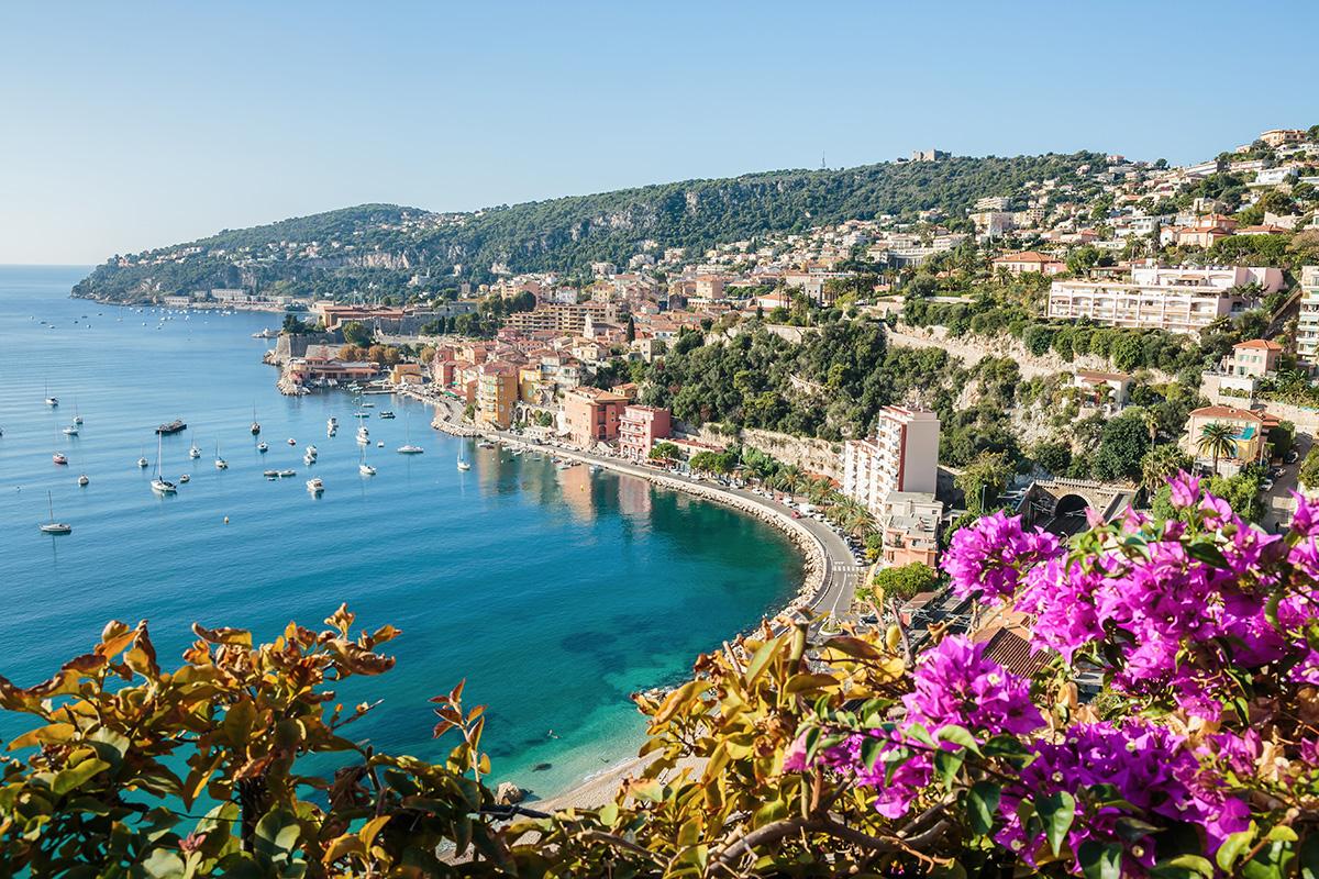 La Côte d'Azur est une destination parfaite pour des vacances en camping-car