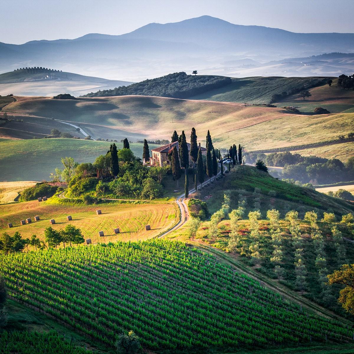 Voyager avec un camping-car en Toscane au printemps.