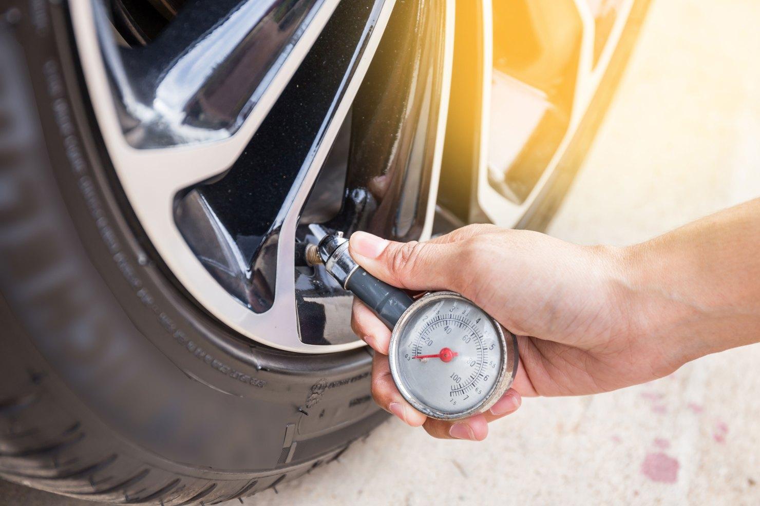 Contrôler les pression des pneus